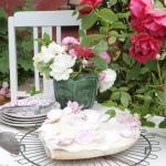 Taart met rozenblaadjes ©CocoOltra